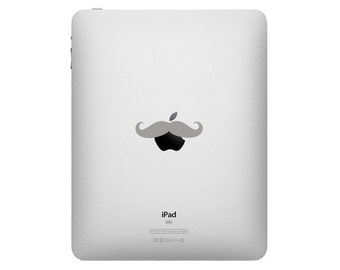 The Mustache - Vinly Decal Sticker for the Apple IPAD