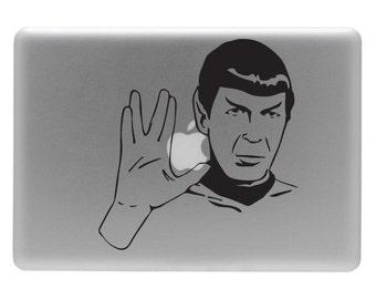 Spock - Vinyl Decal Sticker for the Apple Macbook