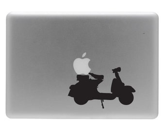 Vespa - Vinyl Decal Sticker for the Macbook or Laptop