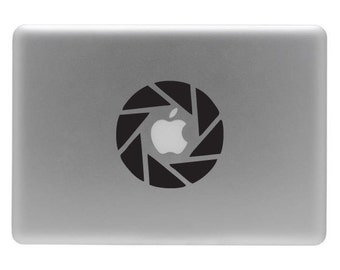 Aperture - Vinyl Decal Sticker for the Macbook or Laptop