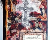 """King James Version Holy Bible """"Cross"""" Approx. 5 1/2 x 7 1/2"""""""