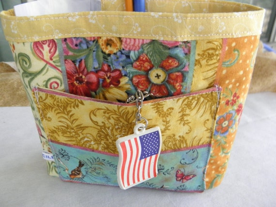 Purse BUCKET Style Organizer Insert  by Cile