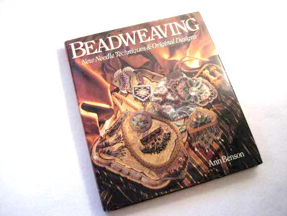 Beadweaving, Hard Cover Book by Ann Benson