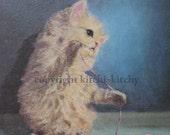 Kittens & Schadenfreude Print