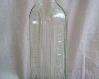 Vintage Green Medicine Bottle