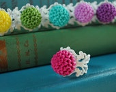 11 COLOR OPTIONS-Mum filigree ring collection