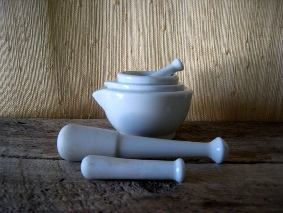 French Mortar and Pestle Set