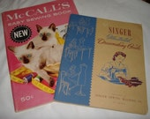 Vintage Sewing Books.... instructional.... reference....