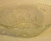 Federal Glass Fruit Bowl Heritage Collection Circa 1955
