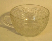 Heritage Collection Cup Federal Glass Tea or Coffee