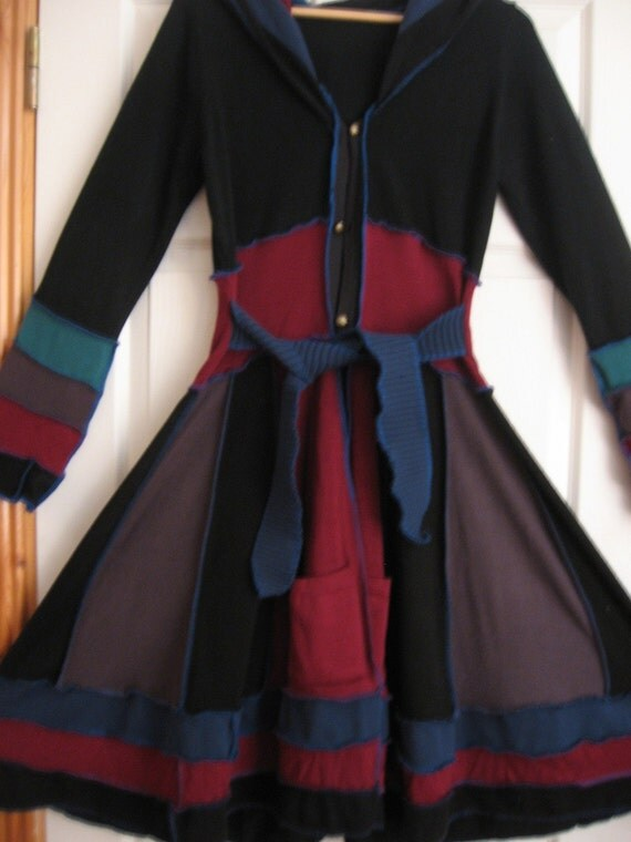 RESERVED FOR CARMEL Elf Coat Size M to L