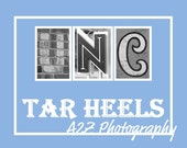 UNC Tar Heels Print