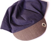 Blue, Tweed and more Blue Large, Cycling Cap