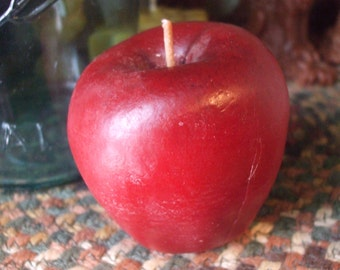 Snow White's Apple in Pure Beeswax