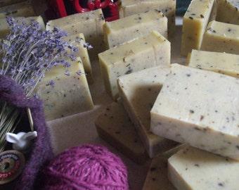 Cold Process Soap- Lavender Grapefruit