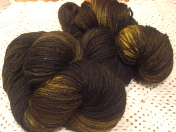 Sale -Winter Sunrise Worsted Weight Wool