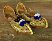 Bollywood - Vintage Khussa Shoes - Size 8