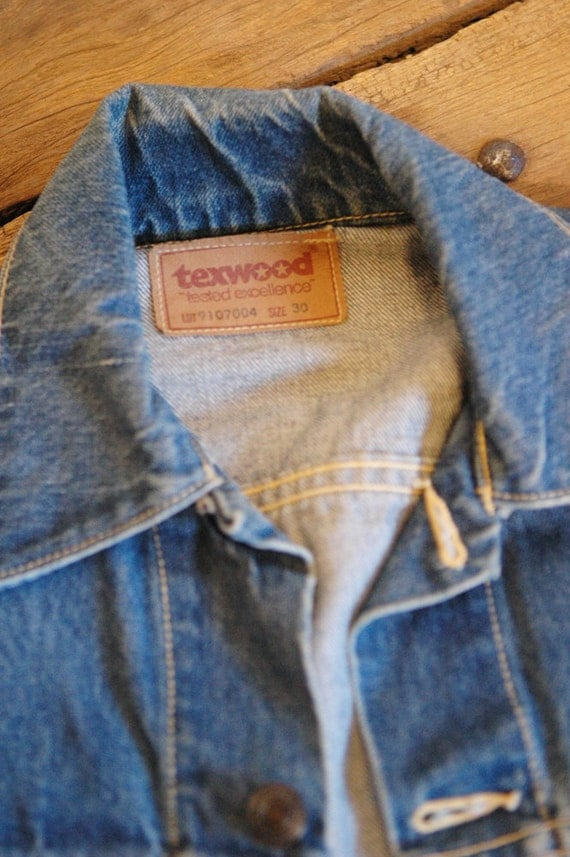 Vintage 70s Texwood Denim Jacket I Ve Got The Blues