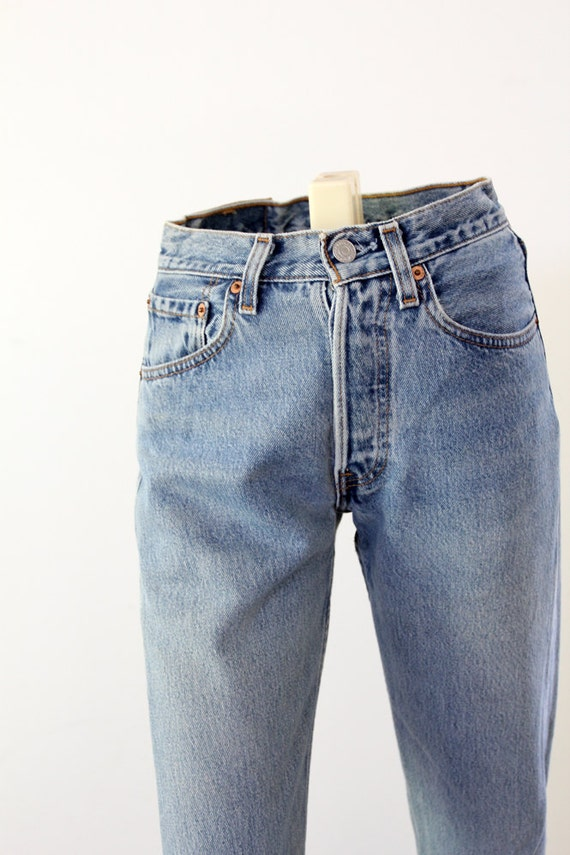 Vintage Levis Jeans // 80s Levis 501 Denim // W 26 L 30