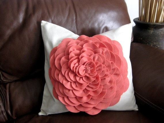 Coral Isle pillow cover 18x18
