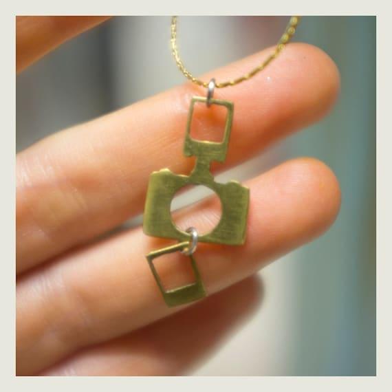 Tiny camera Necklace