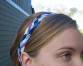 Jewel Colors Tee Shirt Headband