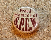 Harry Potter Proud Member of S.P.E.W. Pin-back Button