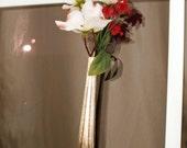 Silverplate Knife Handle Window Bud Vase