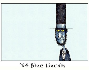 64 Blue Lincoln