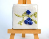 Blueberries - 2 x 2 Tile with Easel