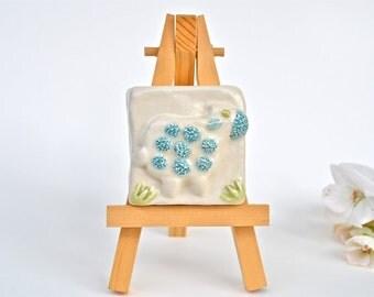 Little Lamb, Little Lamb - 2 x 2 Tile with Easel