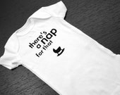 """Funny Geek Baby Onesies - """"There's a Nap for That"""""""