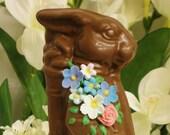 Chocolate Easter bunny golfer