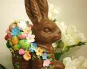 Chocolate Easter Bunny Handmade Candy
