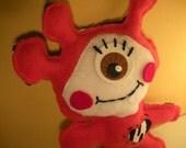 Jackie Stuffed Little Monster From Alien Planet Plush Toy