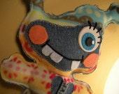 Jenna Stuffed Little Monster From Alien Planet Plush Toy