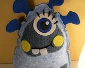Winter Stuffed Little Monster From Alien Planet Plush Toy