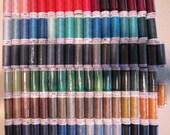 Mettler Slik Finish Cotton Thread ART 105, 86 spools