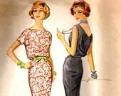 Vintage Dress Sewing Pattern - McCalls 4477 B36