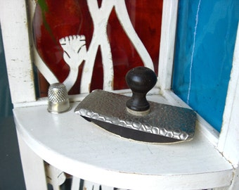 Vintage Antique Tiny  Rocker ink blotter from France