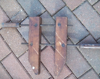 Vintage  Wood Clamp.
