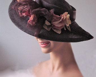 Eliza Doolittle flower girl Edwardian hat