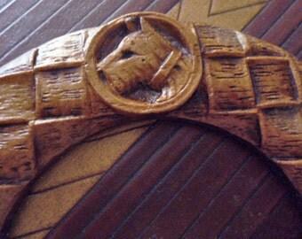 Art Deco Scotty Dog Belt Buckle