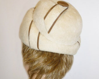 1960s Space Age Mod Helmet style hat