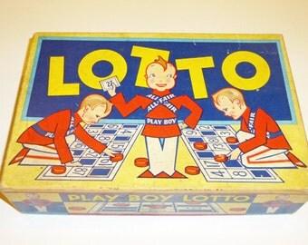 "1931 ""Play Boy"" Lotto Game by ALL FAIR, Inc."