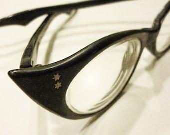 1950s Atomic Rockabilly French Cat Eye Frames