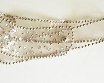 1970s Glam Disco belt