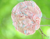 Pink and Blue Stripe Bloom Pin Summer 11