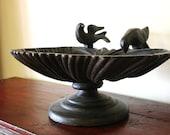 Cast Iron Bird Bath from India