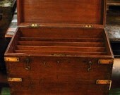 Teak File Chest from India